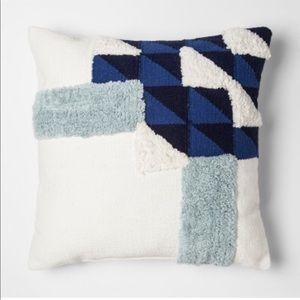 Blue Block Throw Pillow Project 62+ Nate Berkus.